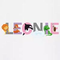tee shirt enfant bébé prénom Léonie