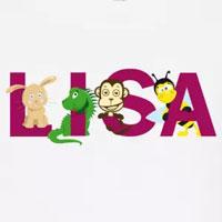 tee shirt enfant bébé prénom lisa