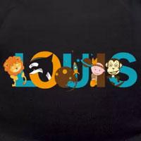 tee shirt enfant bébé prénom louis
