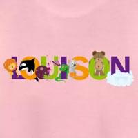 tee shirt enfant bébé prénom louison