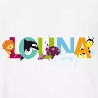 tee shirt enfant bébé prénom louna