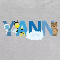 tee shirt enfant bébé prénom yann
