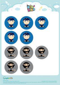 pions morpions police bandit