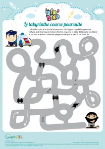 labyrinthe policier bandit