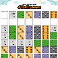 L'activité du mercredi : les dominos d'Halloween