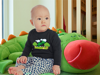 tee shirt bébé dragon