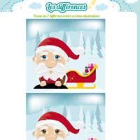 L'activité du mercredi : Les différences du Père Noël