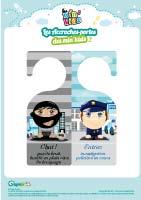 L'activité du mercredi : L'accroche-porte police bandit