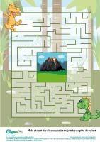 labyrinthe des dinosaures