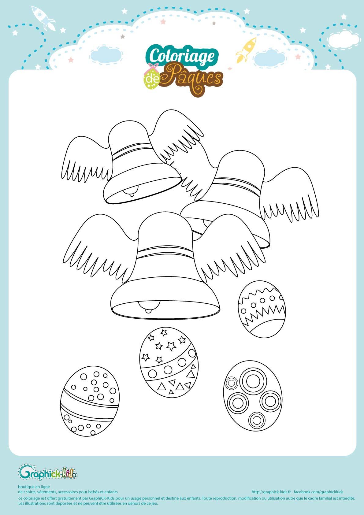 Coloriage De Paques Personnalise.L Activite Du Mercredi Le Coloriage De Paques Graphick Kids