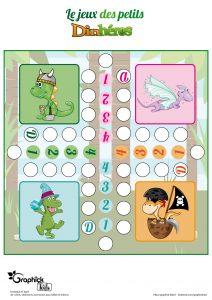 jeu des petits dinosaures