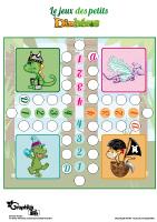 L'activité du mercredi : Le jeu des petits dinosaures