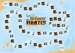 jeu le trésor des pirates
