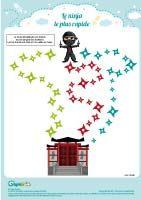 labyrinthe ninja shuriken