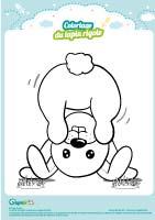 L'activité du mercredi : le coloriage du lapin rigolo