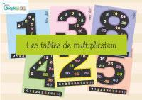 L'activité du mercredi : Les tables de multiplication tout en couleur