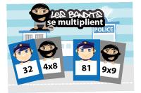 L'activité du mercredi : jeu de multiplications police-bandit 2/2