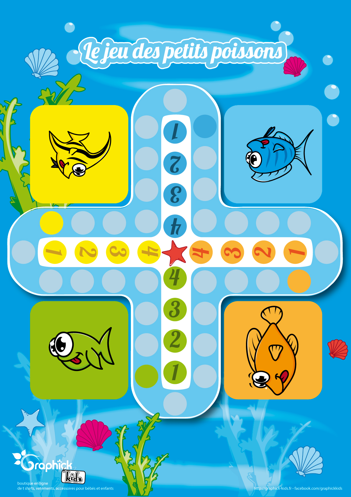 L'activité du mercredi : le jeu des petits poissons